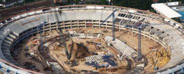 Reforma do Maracanã para a Copa de 2014