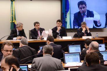 Deputado federal Sergio Souza (MDB-PR) na CPI dos Fundos de Pensão