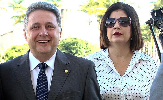 Anthony Garotinho e Rosinha Matheus
