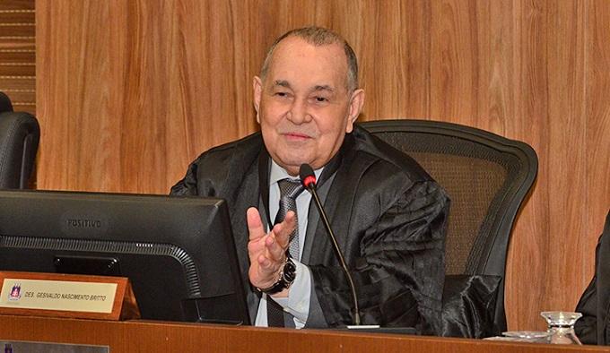 Gesivaldo Brito, presidente do TJ-BA