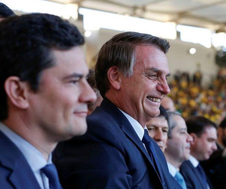 Moro e Bolsonaro