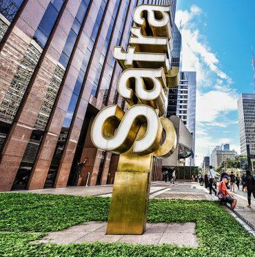 Sede do Banco Safra em São Paulo