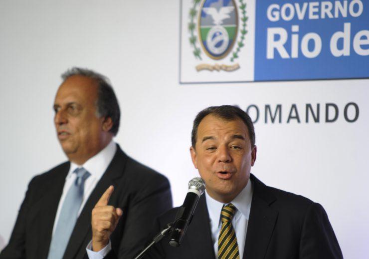 Sérgio Cabral transmite o cargo de governador a Luiz Fernando PezãoTomaz Silva/Agência Brasil