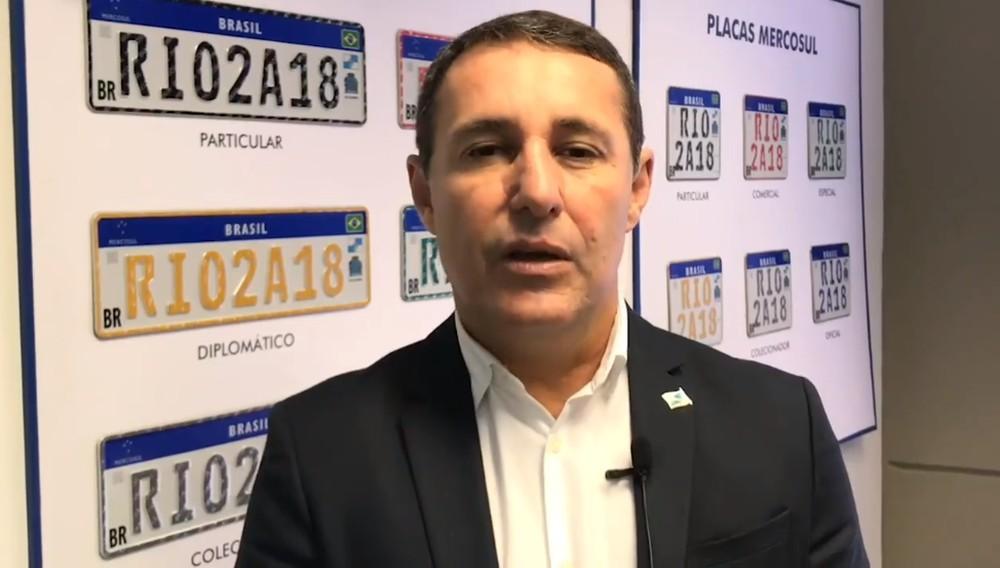 Antonio Carlos dos Santos PRESIDENTE Detran RJ