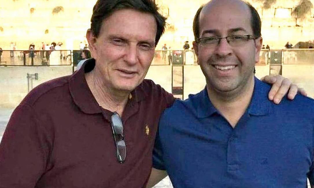 Rafael Alves e Marcelo Crivella