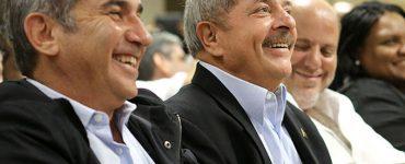 Lula e Gilberto Carvalho